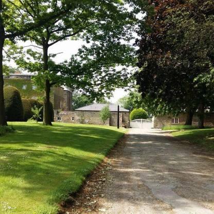 Braandsby Hall yard entrance